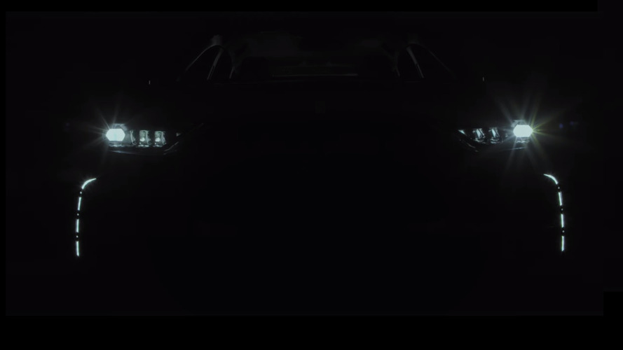 DS7 Crossback teaser confirms name and reveals intricate LED lights