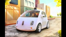 Google Self-Driving Car Prototype
