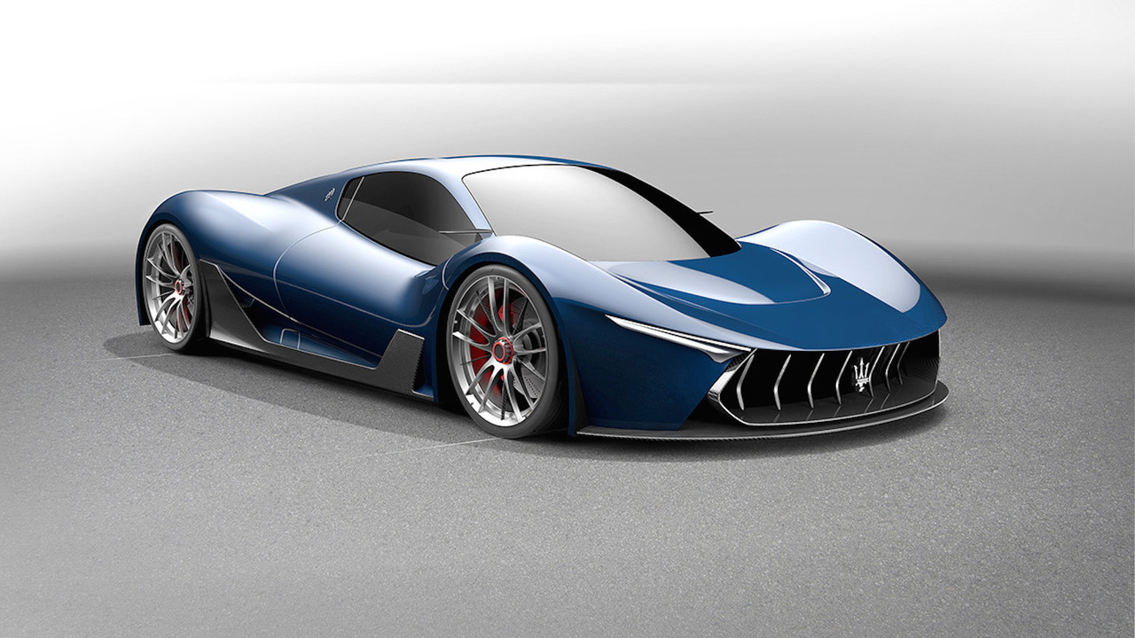Designer Envisions Maserati Mc 63 Hypercar Based On Laferrari