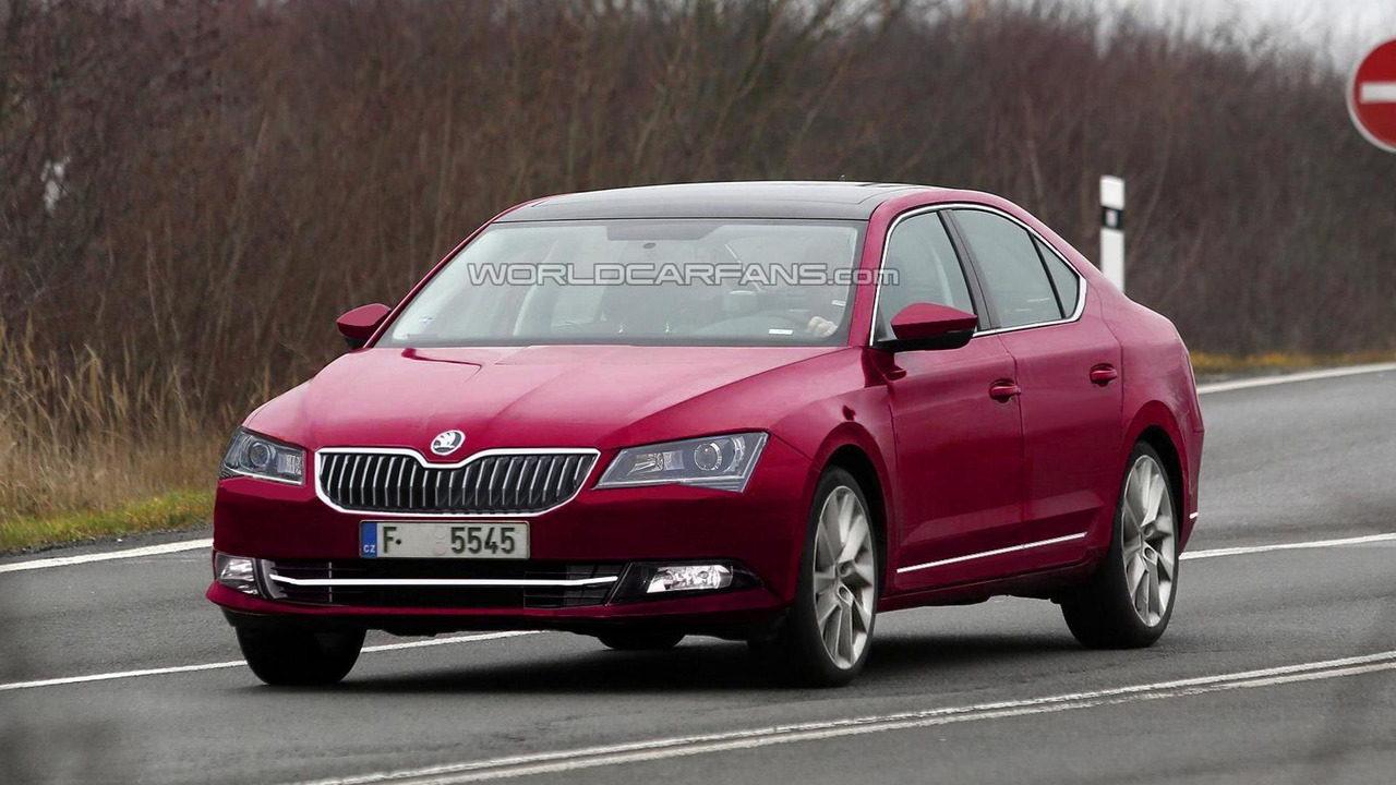 2015 Skoda Superb render