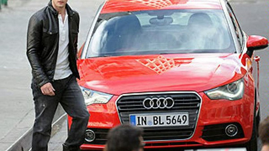 Audi A1 Snapped During Commercial Filming with Justin Timberlake