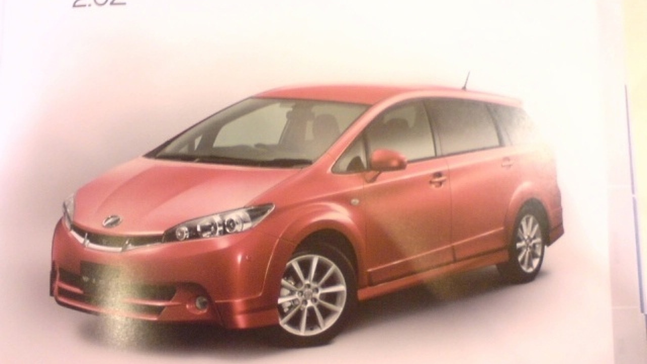 Toyota Wish 2009 Brochure Leak