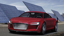 LEAKED: Audi R8 e-Tron Concept Revealed