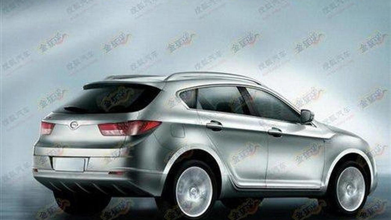GAC X-Power SUV renderings leaked 16.03.2011