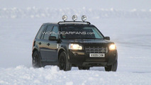 Land Rover LRX Mule Spied Winter Testing