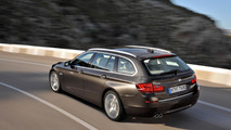 2014 BMW 5-Series facelift lineup showcased on video
