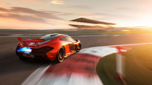 New batch of McLaren P1 photos at Bahrain International Circuit released