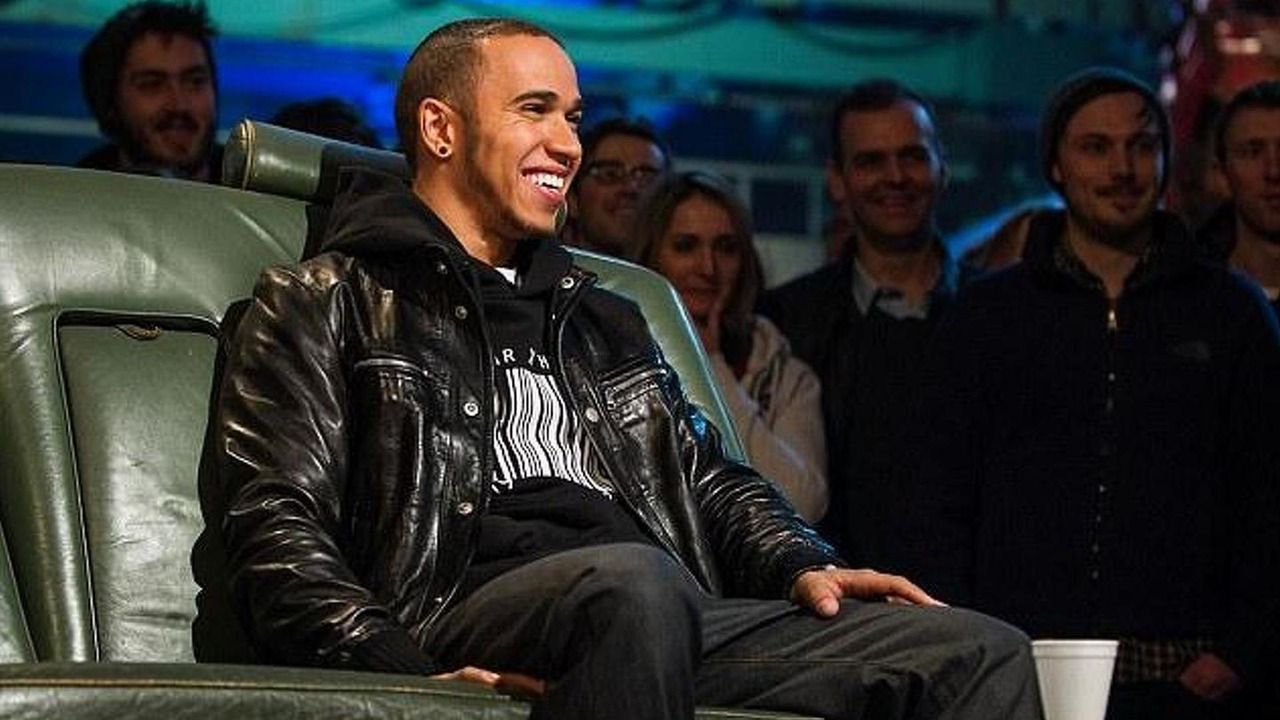 Lewis Hamilton on BBC's Top Gear TV program 18.02.2013