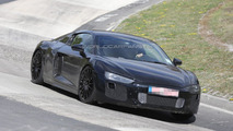 Next-gen Audi R8 spied on the 'Ring once again