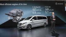 2014 Mercedes-Benz V-Class at 2014 Geneva Motor Show