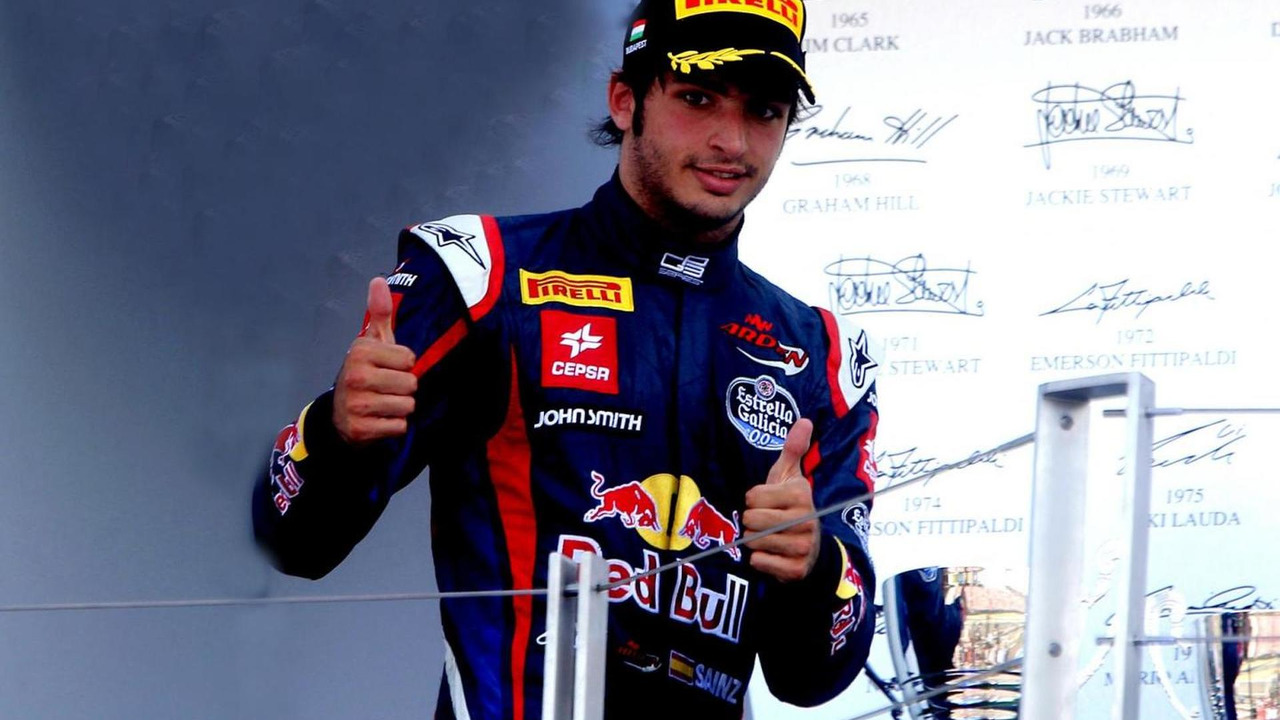 Carlos Sainz Jr 28.07.2013 GP3 Series Budapest Hungary