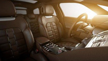 Citroën DS5 leaked photos showing luxury interior