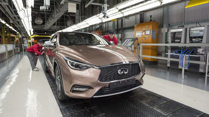 Infiniti achieves all-time sales record in March