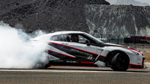 Nissan GT-R Nismo sets fastest drift world record