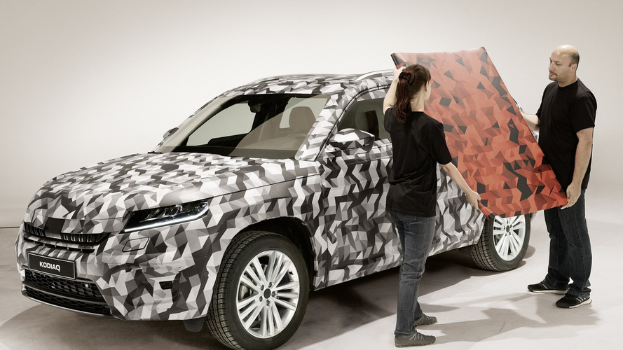 Skoda drops yet another teaser for Kodiaq seven-seat SUV