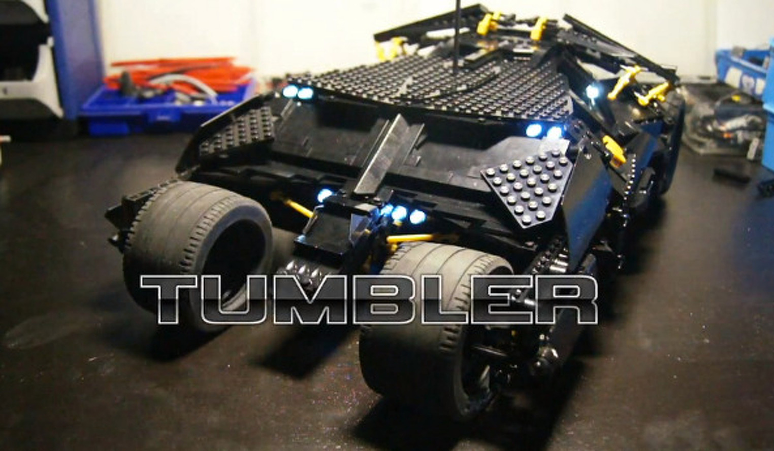 Video: Batman's Lego Tumbler is as Cool as it Sounds