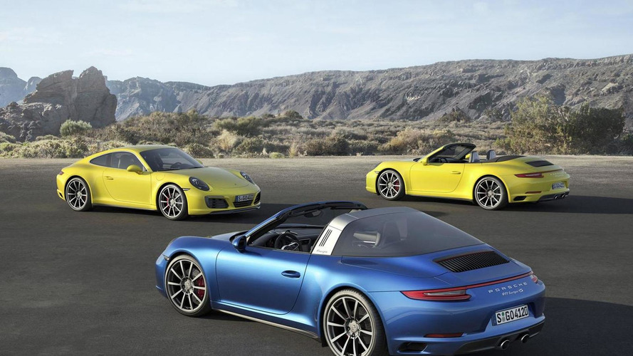 Porsche 911 S Gets 30-hp Performance Kit, New Equipment