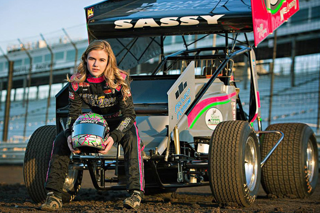 McKenna Haase Becomes First Woman to Win a Feature Sprint Car Race at Knoxville