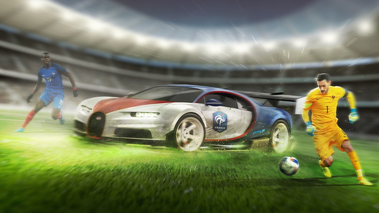 Euro 2016 teams get matching cars