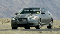 Jaguar XF-R Spied in the American Desert
