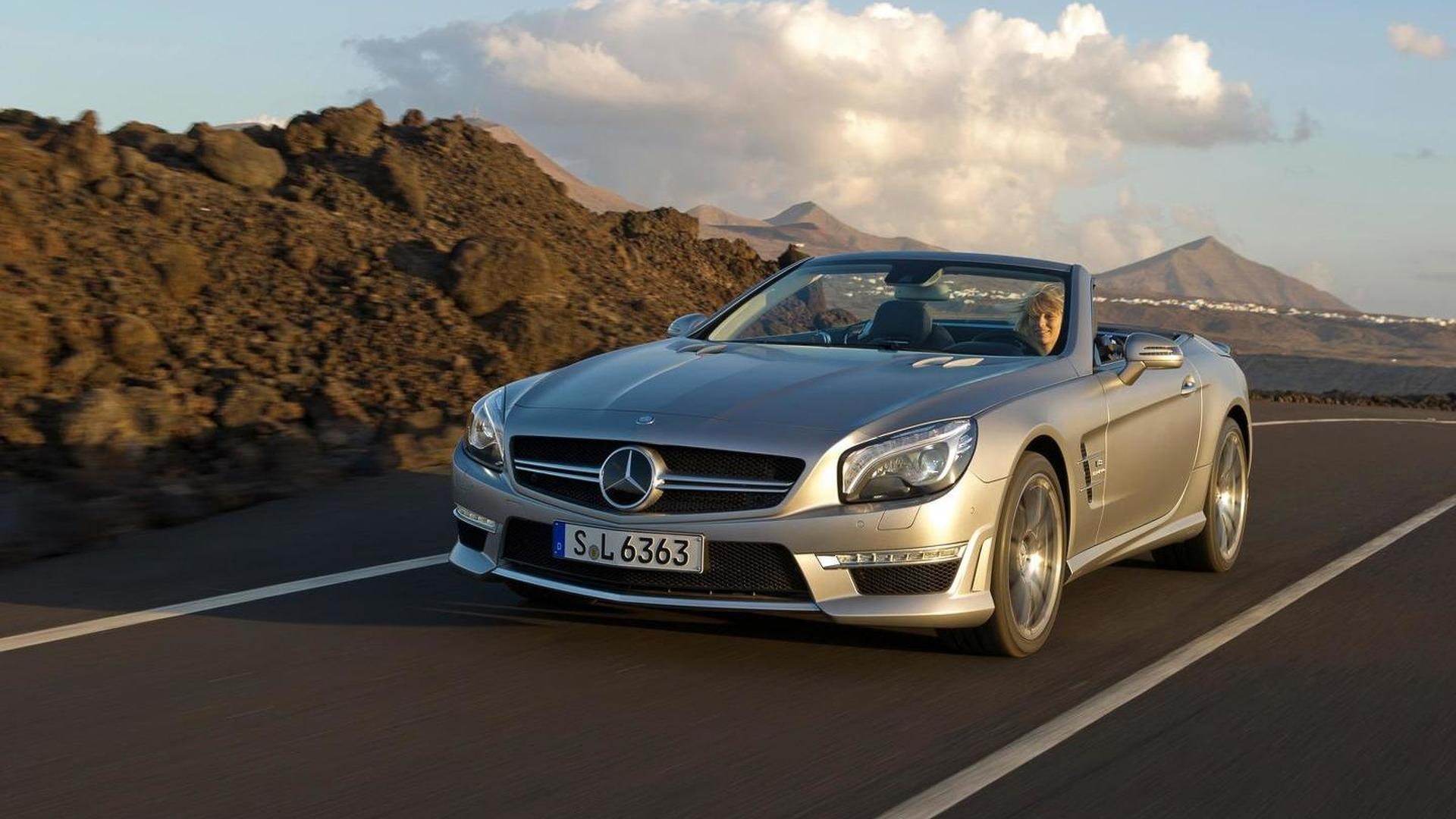 Mercedes-Benz to replace SL 350 with SL 400; SL 63 AMG getting 585 HP
