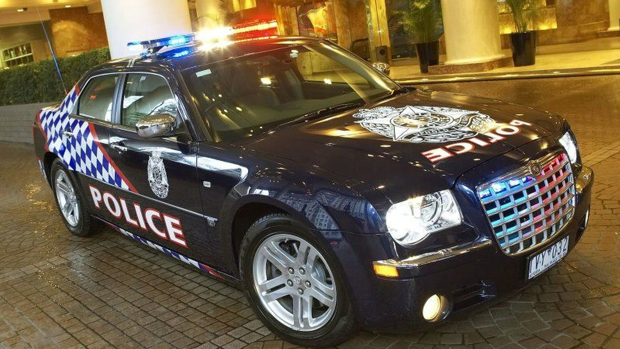 Chrysler 300C Police Car - Australia