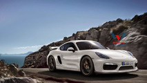 Porsche reportedly working on Cayman GT4 race car