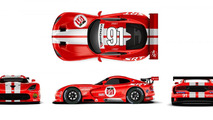 Dodge Viper returns as company unveils the Dodge Viper SRT GTS-R