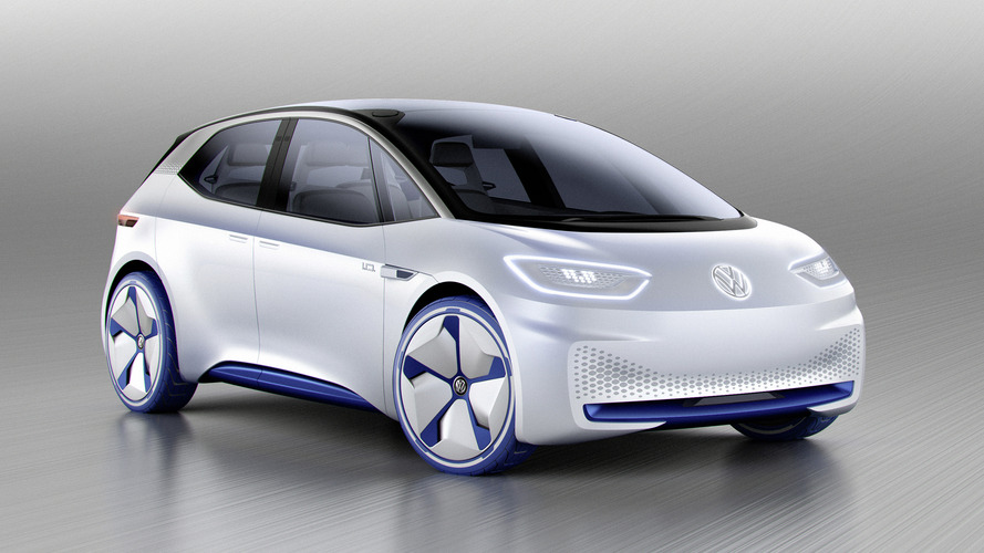 Volkswagen shows electric hatchback concept ahead of Paris debut
