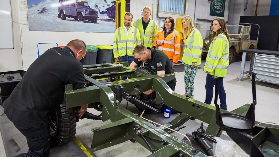 Land Rover Classic workshop now open for restoration tours