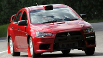 Mitsubishi Lancer EVO X Announced as WRC Course Car in Japan