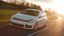 Volkswagen Golf VII Light-Tron by Low-Car-Scene and BlackBox-Richter [video]