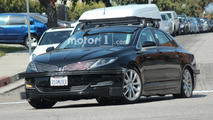 Faraday Future test mule spied under Lincoln MKZ