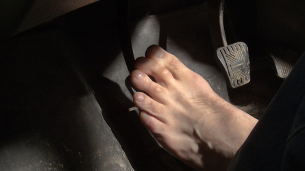 Is driving barefoot illegal?