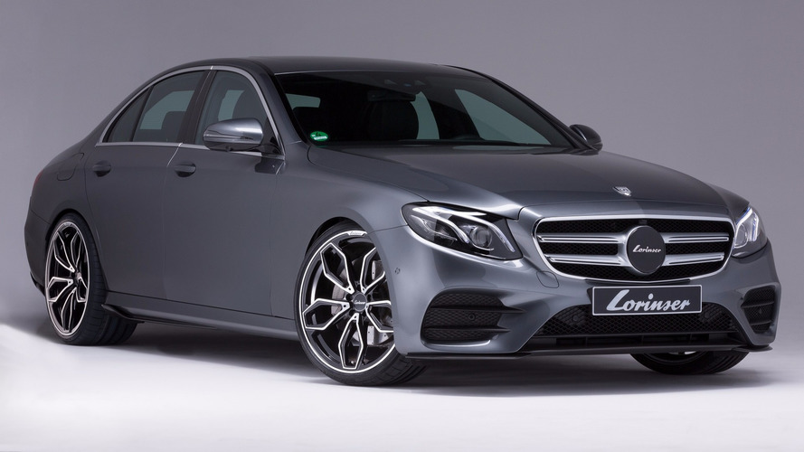 Lorinser gives the 2017 Mercedes E Class a makeover