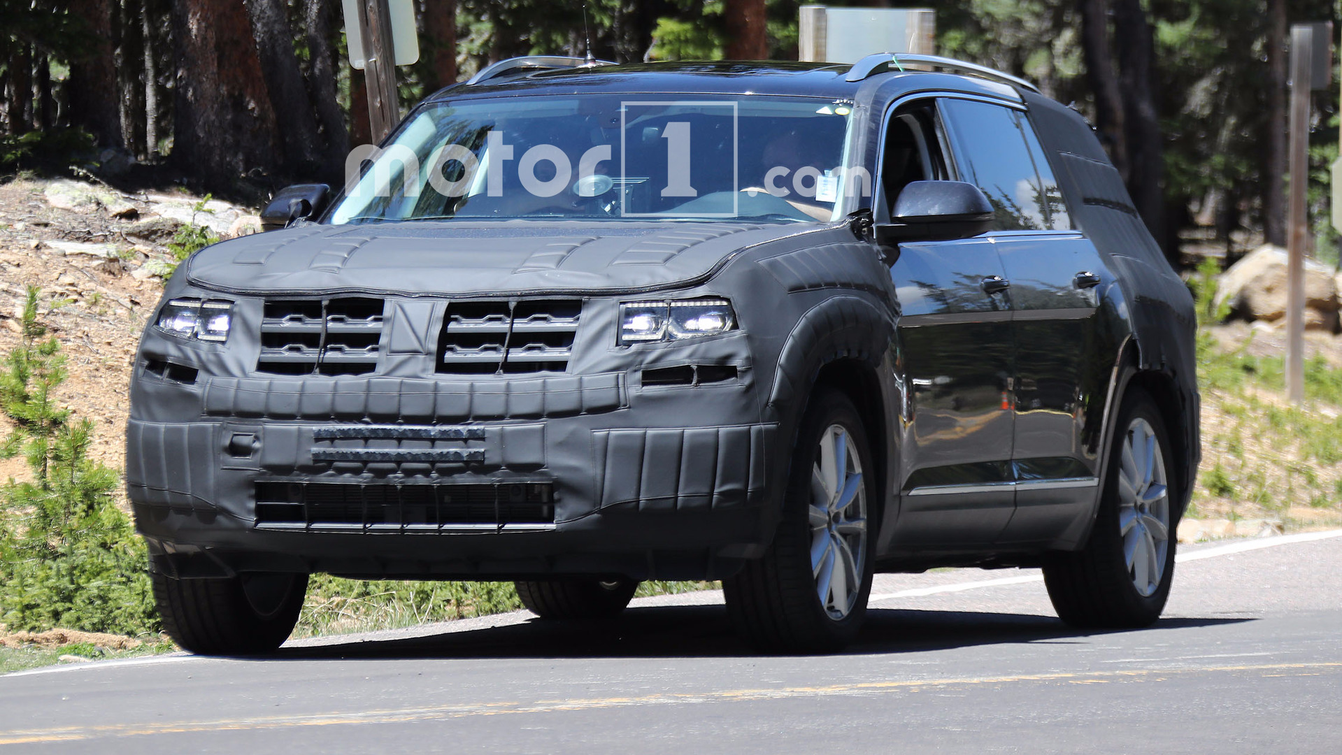 VW's new SUV to be called Teramont?