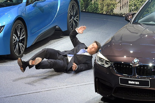 BMW CEO Faints Onstage at Frankfurt Motor Show