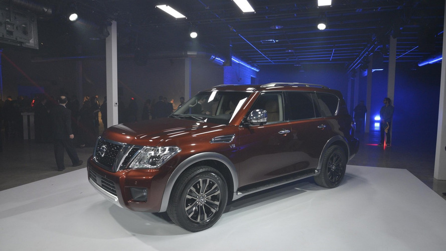 2017 Nissan Armada unveiled with 390 hp