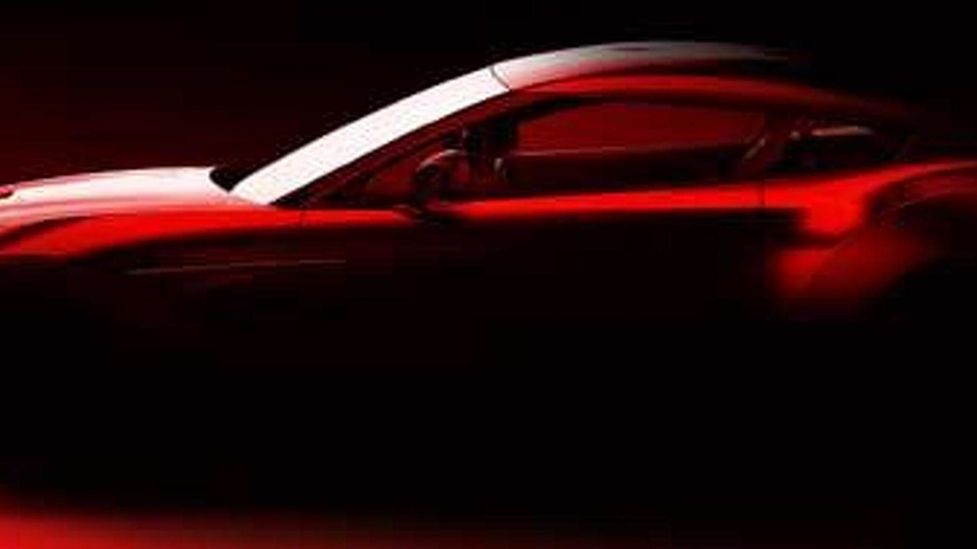 Aston Martin Zagato concept teased - could be headed for production