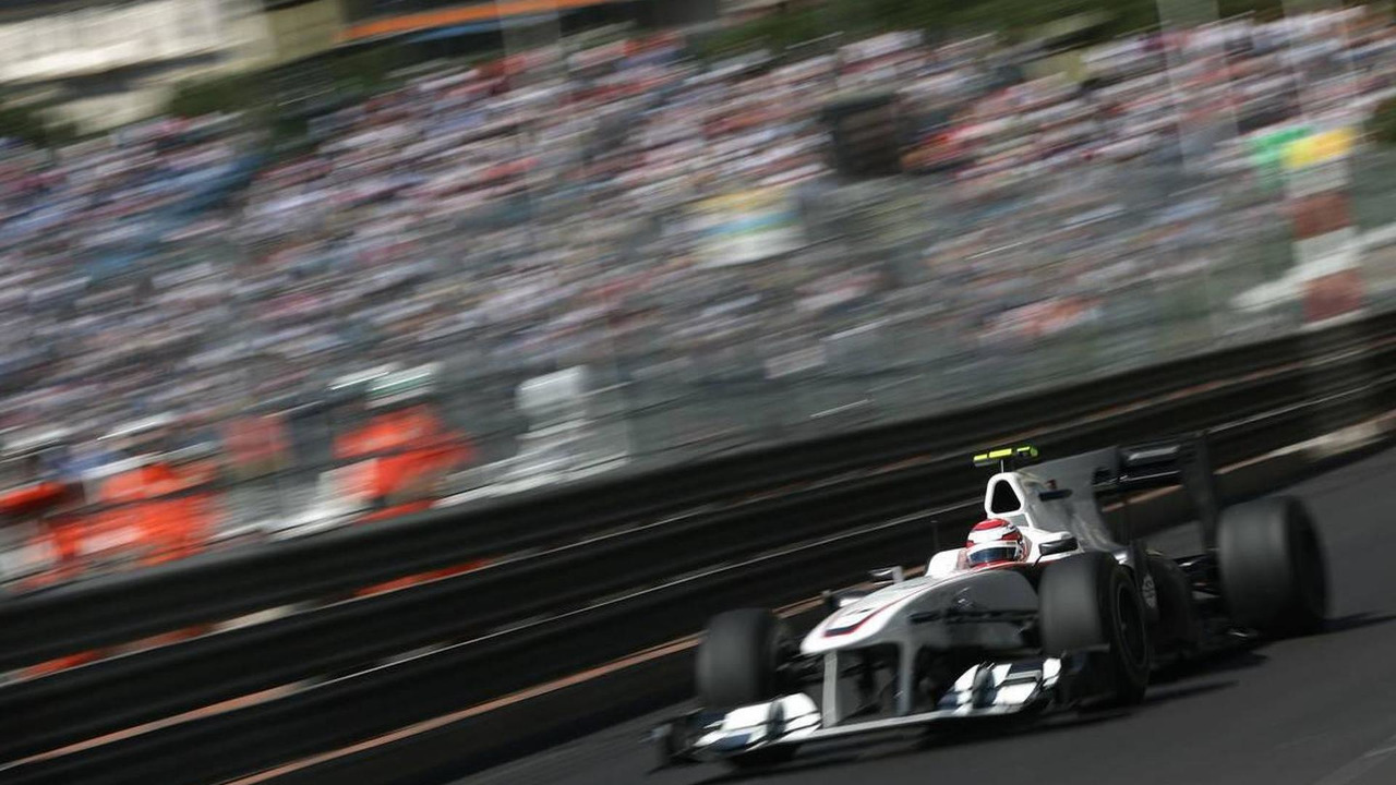 Kamui Kobayashi (JAP), BMW Sauber F1 Team - Formula 1 World Championship, Rd 6, Monaco Grand Prix, Thursday Practice