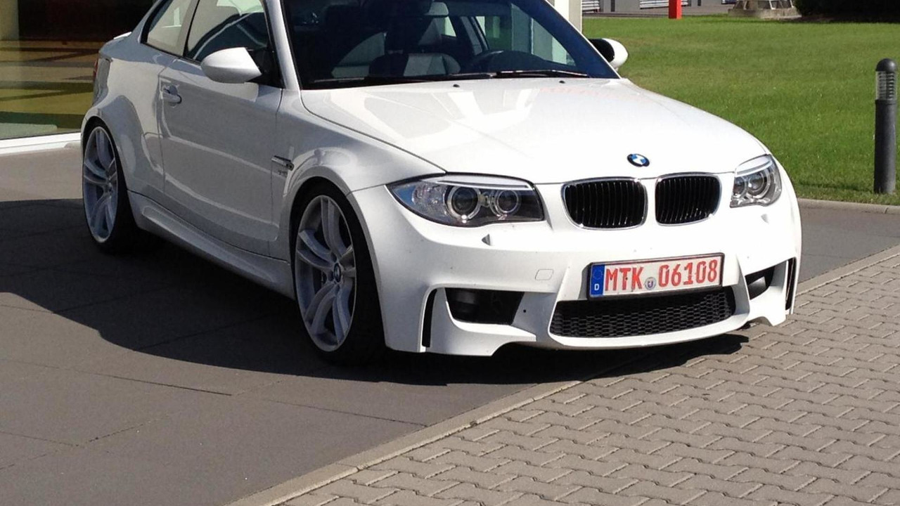 BMW 1-Series M Coupe replica with M5 V10 engine