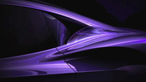 Infiniti advanced sports car concept teaser image