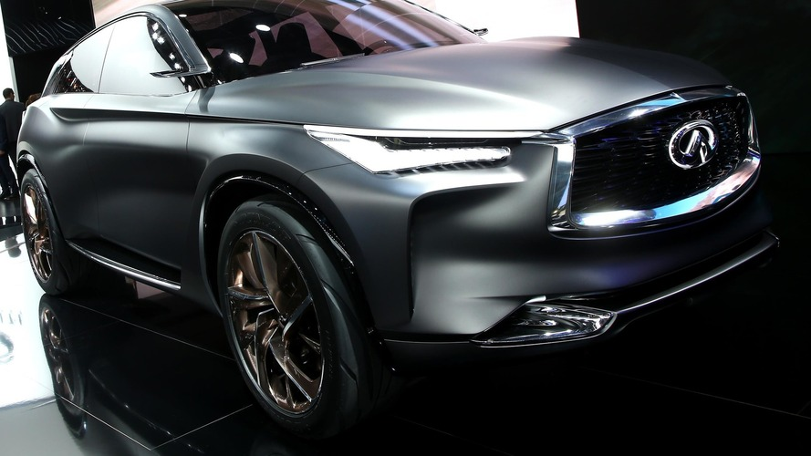 Infiniti QX Sport Inspiration concept restyled for Paris debut