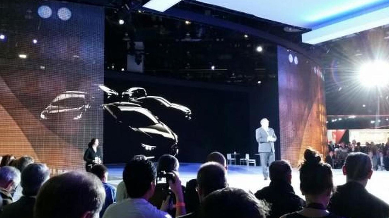 Chevrolet press conference in Detroit
