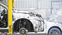 Land Rover Discovery Sport at Halewood factory