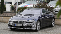 BMW Alpina B6 Gran Coupe facelift spied at the Nürburgring