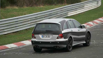 Mercedes Benz R 55 AMG Spy Photos