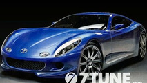 Rendered Speculation: Toyota/Subaru FR Sports car