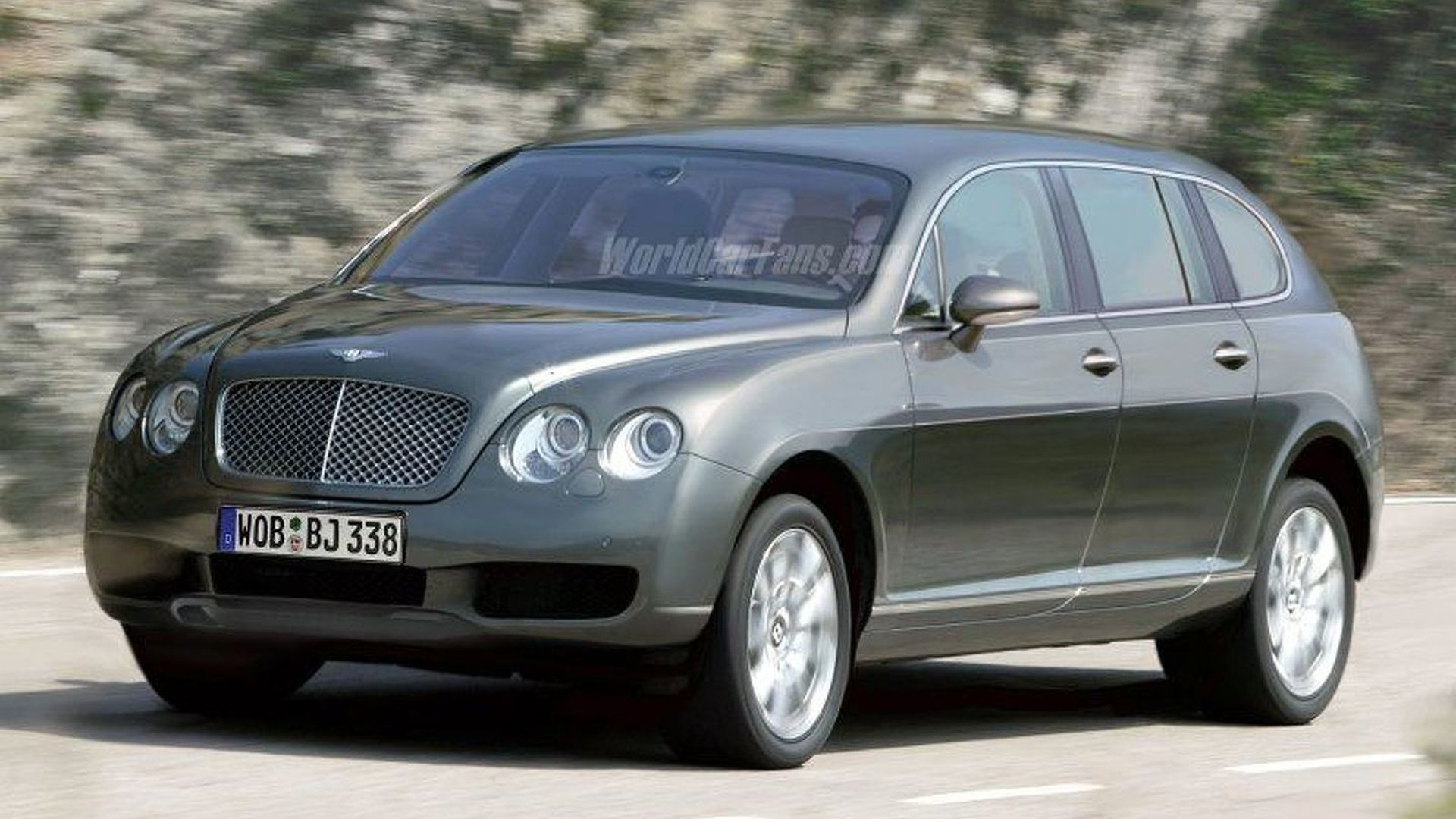 Bentley SUV reportedly headed for Geneva Motor Show