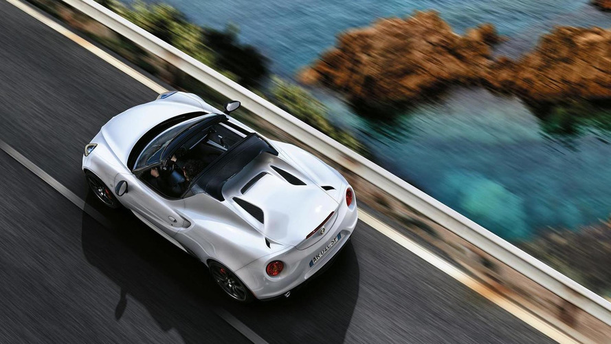 Alfa Romeo 4C Spider heading to Geneva in Euro clothing [17 photos]